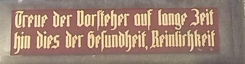 Inschrift deutsch10
