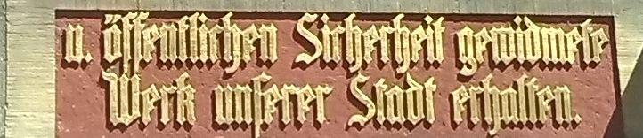 Inschrift deutsch11