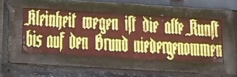 Inschrift deutsch7