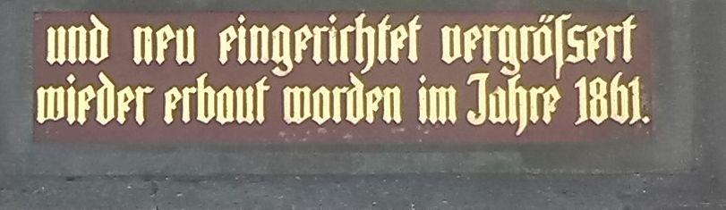 Inschrift deutsch8