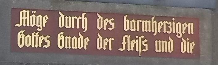 Inschrift deutsch9