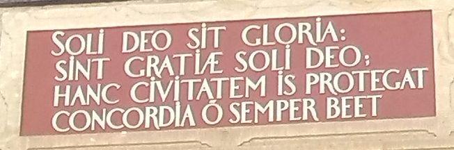 Inschrift Latein 1